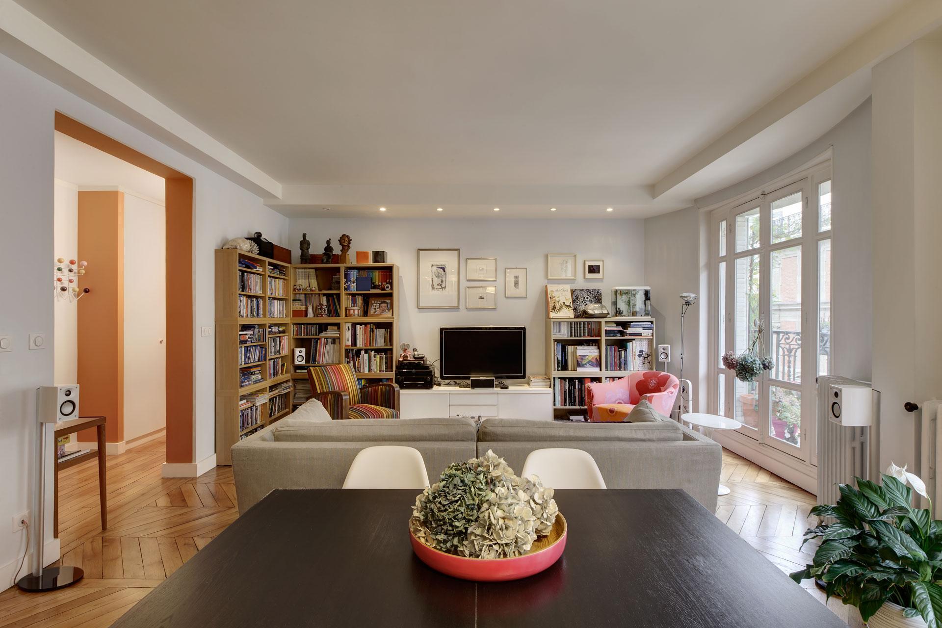 Renovation D Interieur Paris pisi design architectes. atelier d'architecture et