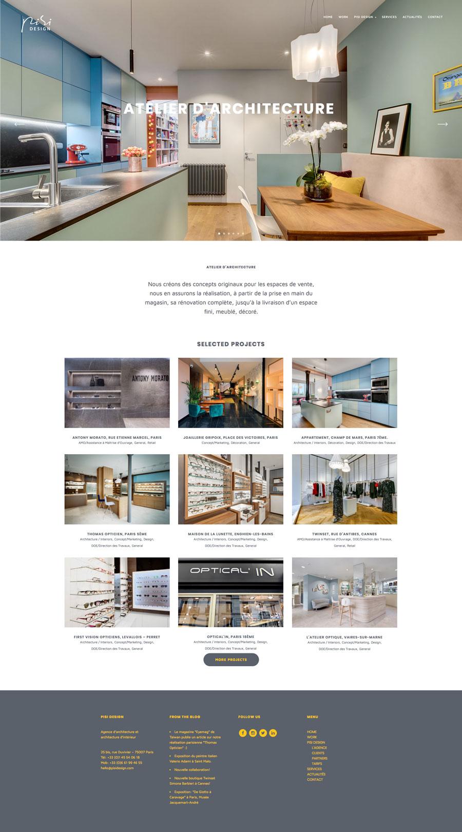Pisi Design new website