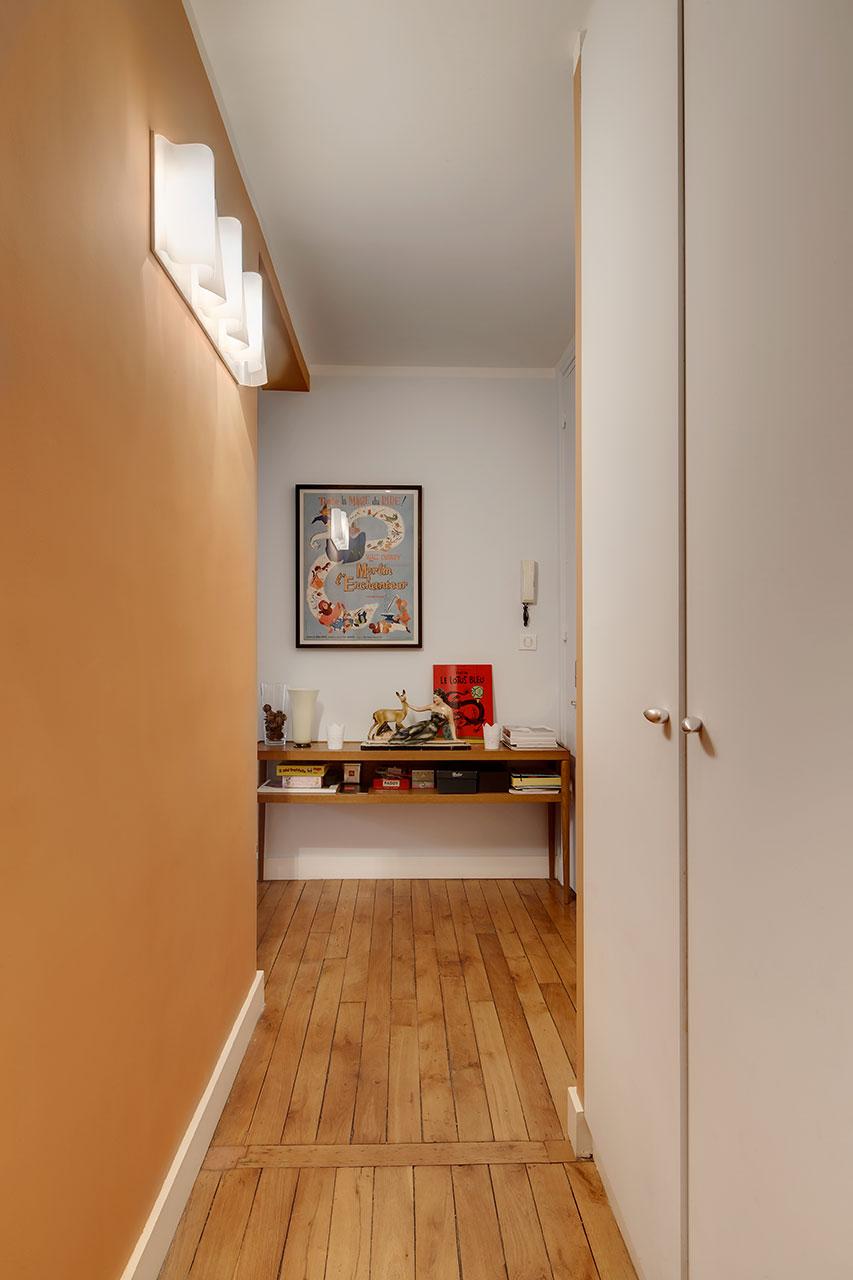 r novation et d coration d 39 un appartement aux beaux volumes montmartre paris 18 me pisi. Black Bedroom Furniture Sets. Home Design Ideas