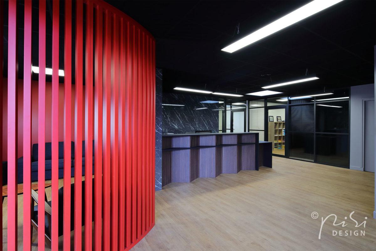 Nouvelle réalisation, rénovation et design d'un office notarial en région parisienne.
